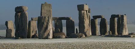 Stonhenge on a Frosty Morning. From Sleep-less on Flickr