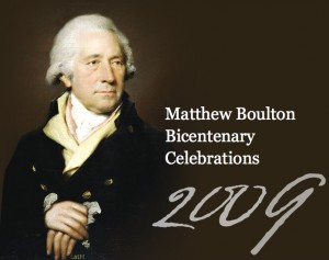 An image from the new site celebrating Boulton's bicentenary