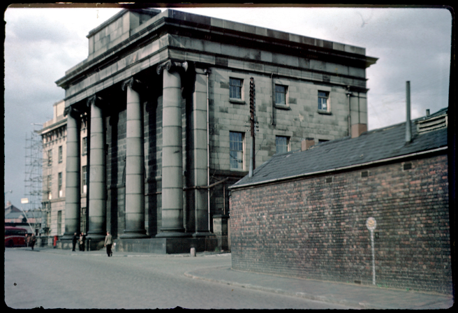 Phyllis Nicklin's 1953 image of Curzon Street Station
