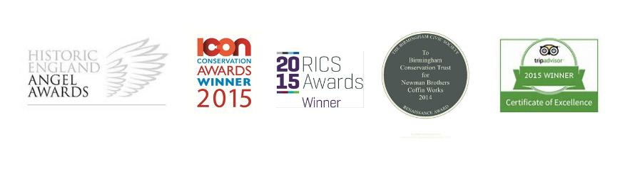 2015 Awards logos