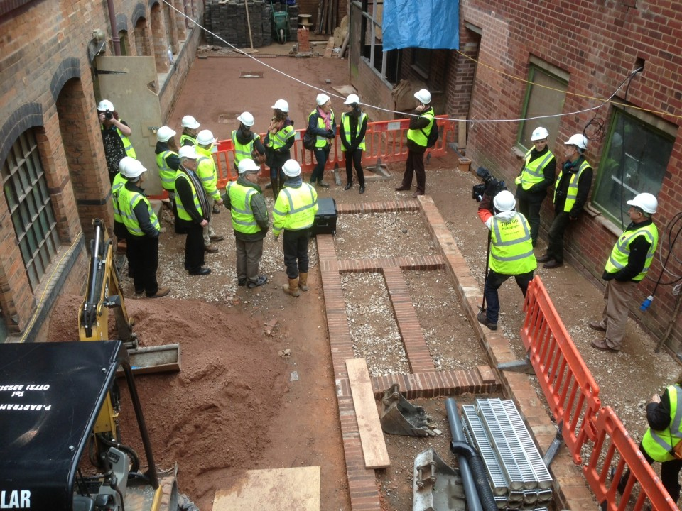 Hard hat tour for volunteer and supporters - dippy shed outline - Copy