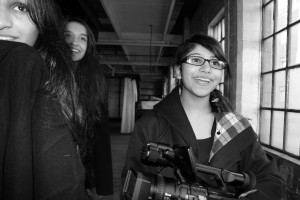 JCC students film making at Coffin Works