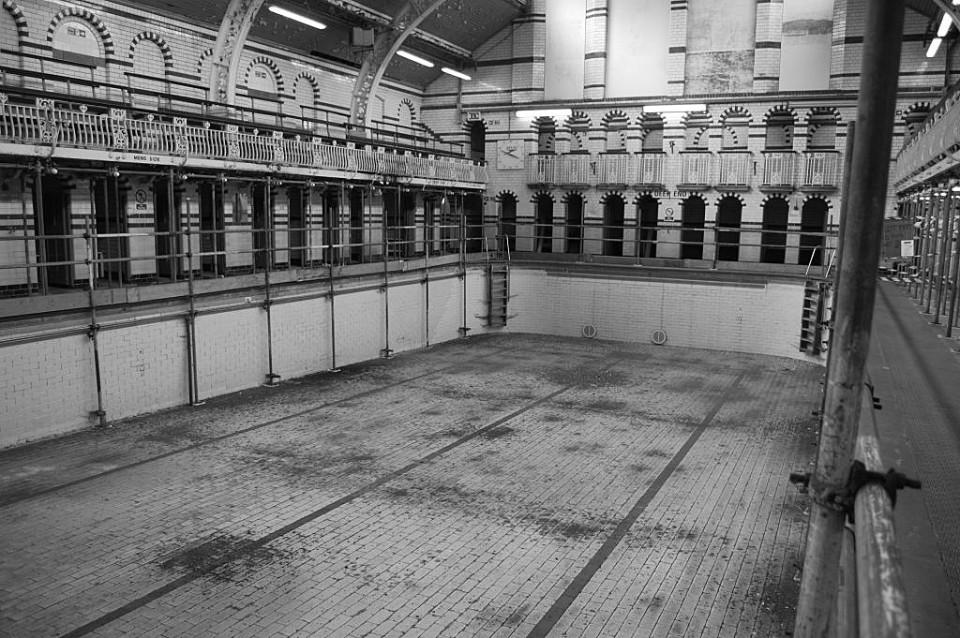 The Gala Pool in Moseley Road Baths