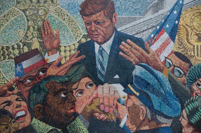 JFK Memorial Mosaic