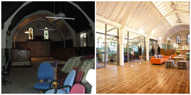 gartnavel-chapel-before and after-repair