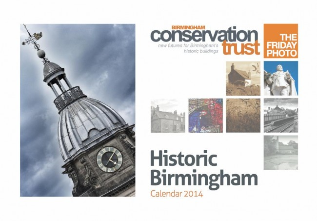 Historic Birmingham 2014 Calender