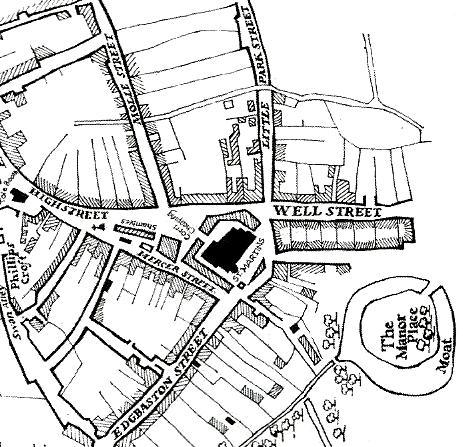 Exploring Birminghams Medieval Streets By Sarah Hayes Birmingham