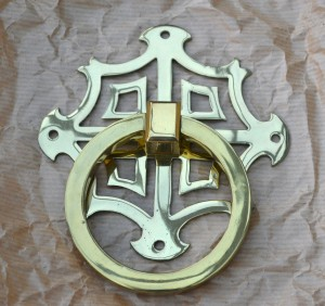 Brass-ring handle design dating from 1924.