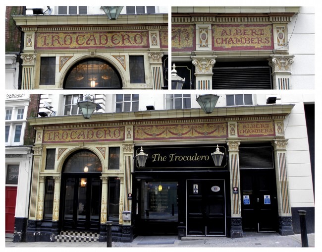 Faïence Frontage: The Trocadero