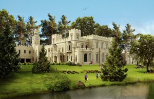 The new proposed look for Great Barr Hall