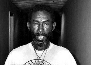 Lee Scratch Perry, Notting Hill, 1987, by Pogus Caesar.