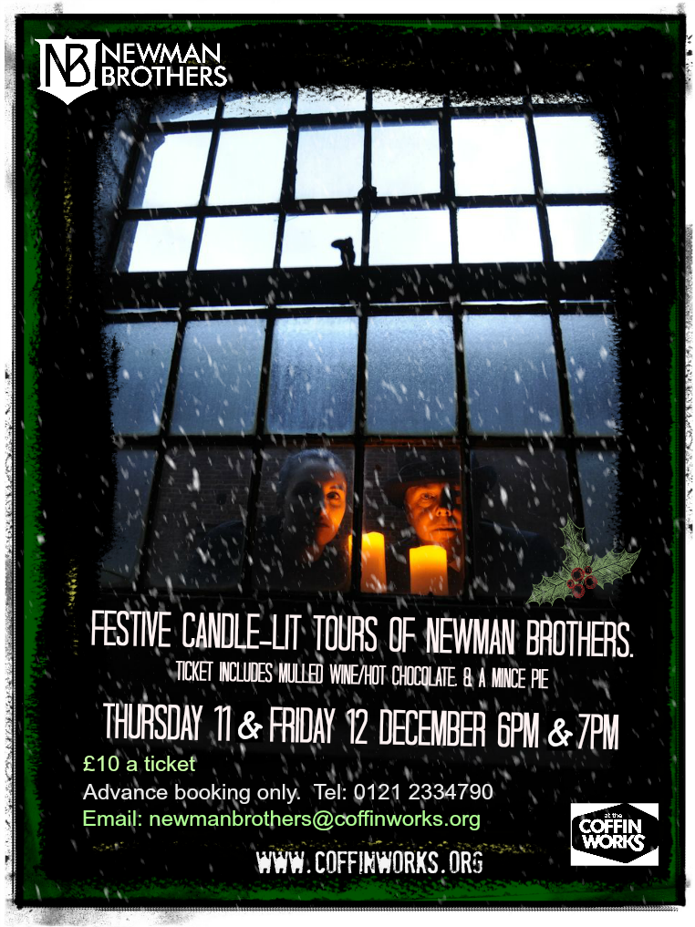 Newman Brothers festive candle-lit tours 11and12.12.14