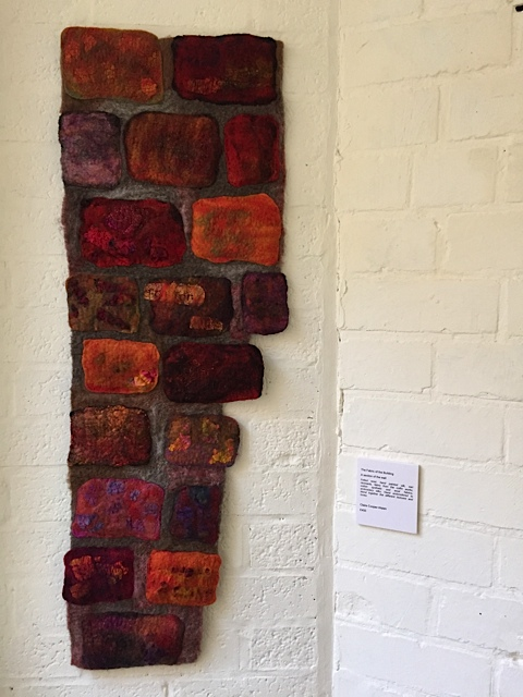 Textile art by Claire Cooper Walsh