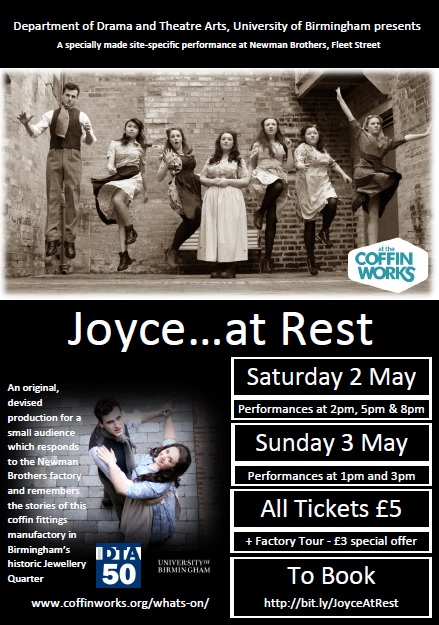 Joyce at Rest Theatre poster JPEG