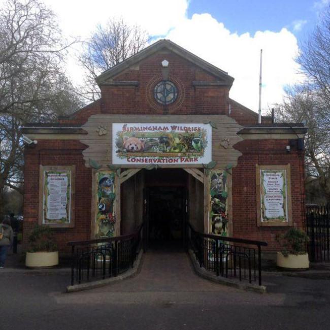 wildlife park entrance