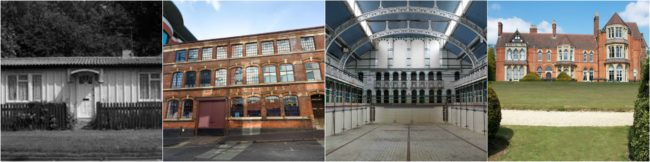 Buildings montage