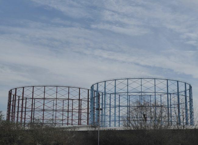 Steel gider gasworks